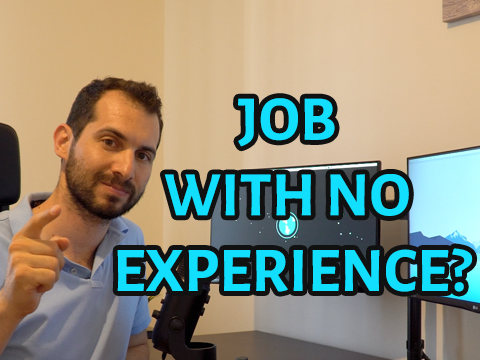 Searching a programming job with no experience? | Web and